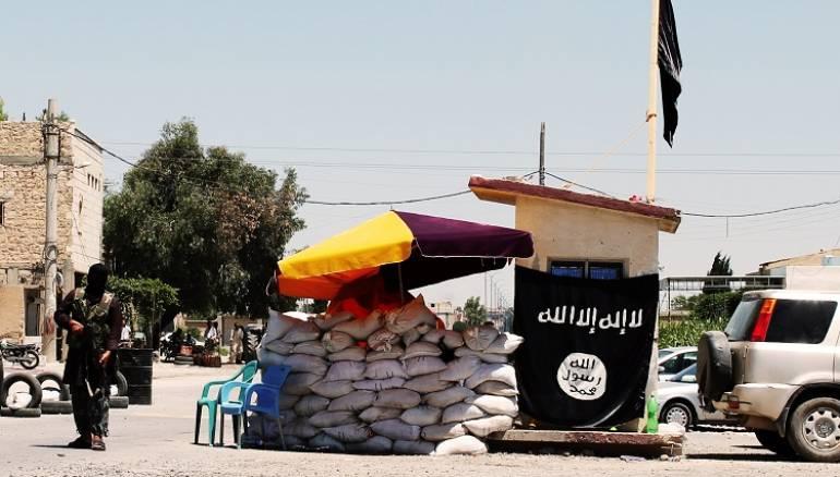 صورة تنظيم الدولة يسيطر على القريتين وسط سوريا