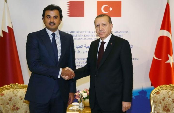 صورة أردوغان وتميم يبحثان هاتفيا العلاقات الثنائية وقضايا إقليمية
