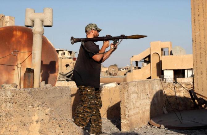 صورة متحدث أمريكي: تنظيم الدولة سيدافع عن الرقة حتى الموت