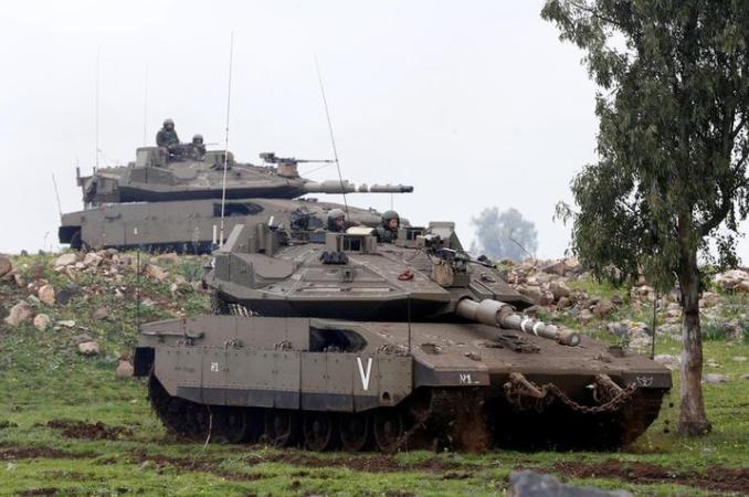 صورة الجيش الإسرائيلي يتوعد قوات النظام السوري