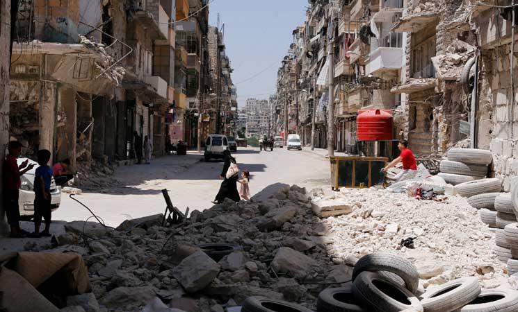 صورة اتفاق تهدئة جنوبي دمشق برعاية مصرية
