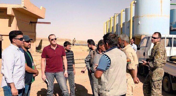 """صورة وزير سعودي يلتقي """"PYD"""" سراً بالحسكة"""