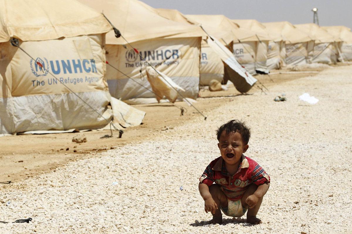 صورة اليونيسيف: 5 ملايين طفل يتهددهم شتاء المنطقة