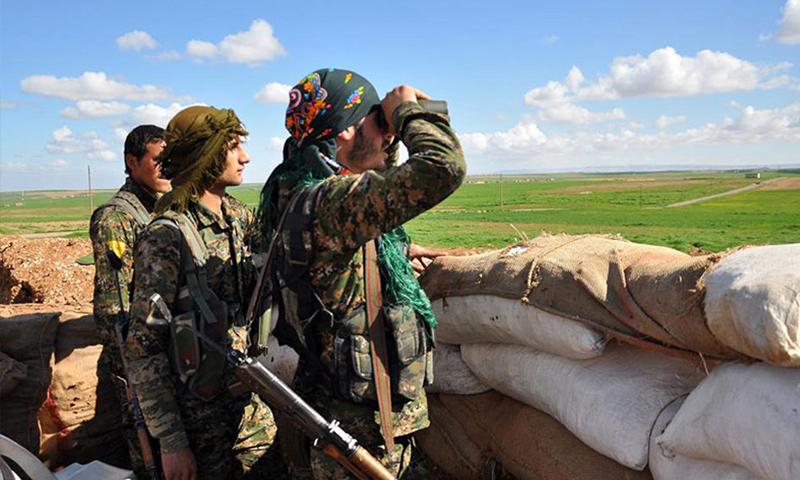 صورة الإدارة الذاتية: مستعدون للتفاوض مع الأسد