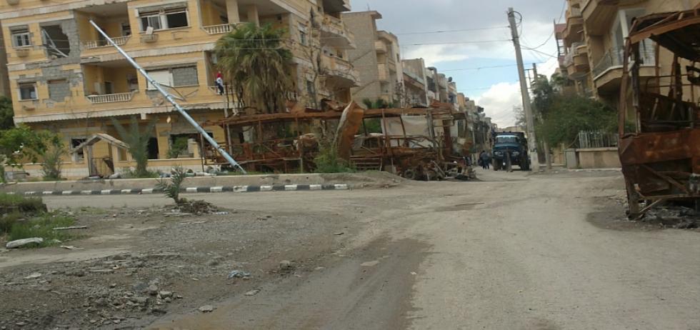 صورة قوات النظام تنفذ عمليات إعدام بحق المدنيين في دير الزور