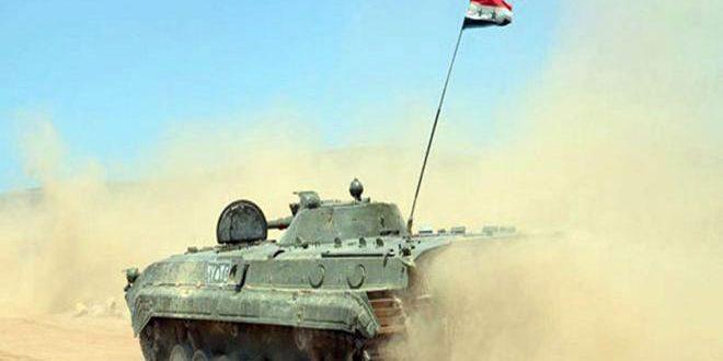 صورة النظام السوري يسيطر على الميادين