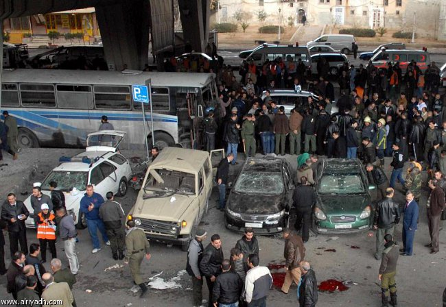 صورة قتلى بانفجار مزودج في الميدان بدمشق