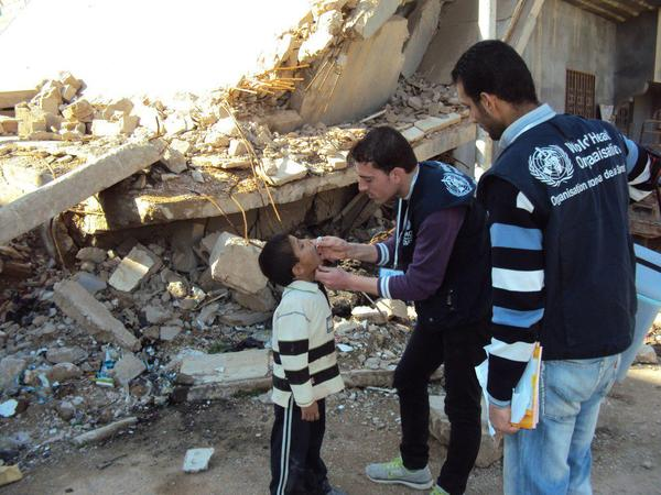 صورة تدمير مخزن للأمصال بدير الزور يحتوي 135 ألف جرعة لقاح