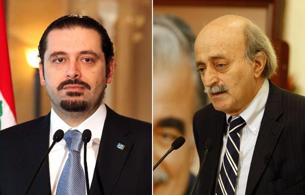 صورة الحريري وجنبلاط يرفضان تطبيع العلاقات مع الأسد