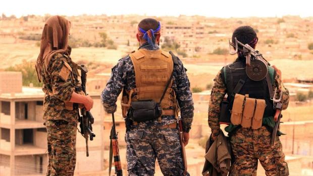 صورة الأكراد: سنطارد تنظيم الدولية في دير الزور