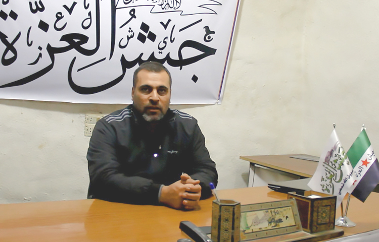 """صورة جيش العزة: على وفد أستانا كشف بنود اتفاق """"تخفيف التصعيد"""""""