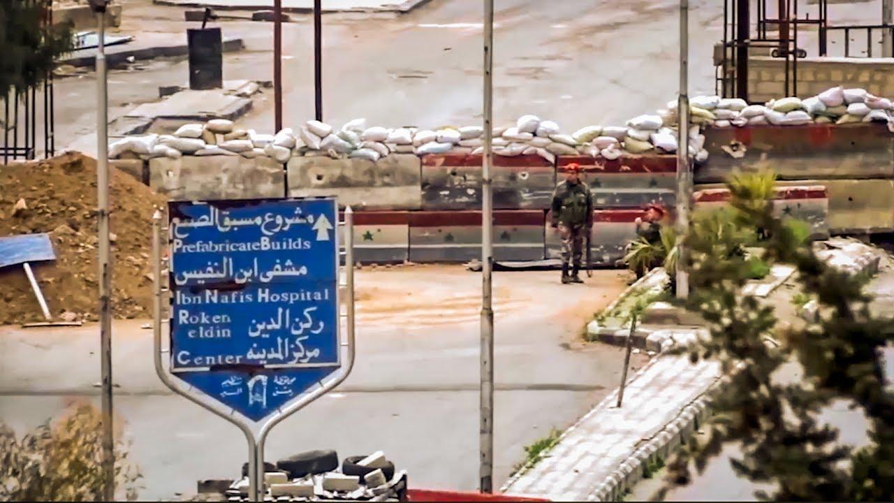 صورة 250 عائلة فلسطينية ضمن آلاف المدنيين المحاصرين بغوطة دمشق
