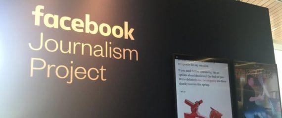 صورة فيسبوك تطلق مشروعها للصحافة في العالم العربي