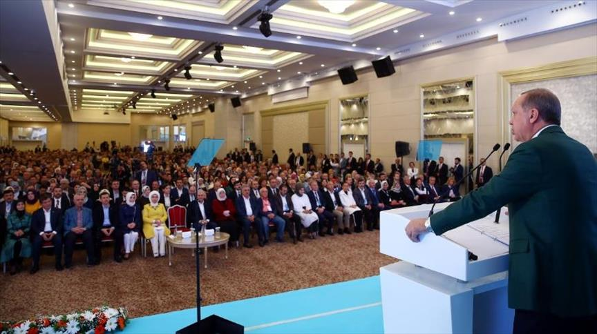 صورة أردوغان: سنتحرك بالتعاون مع روسيا لضمان حماية المدنيين بإدلب