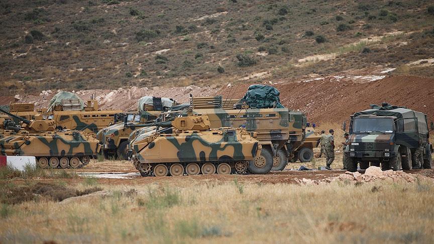 صورة تعزيزات عسكرية تركية إضافية لحدودها مع سوريا والعراق