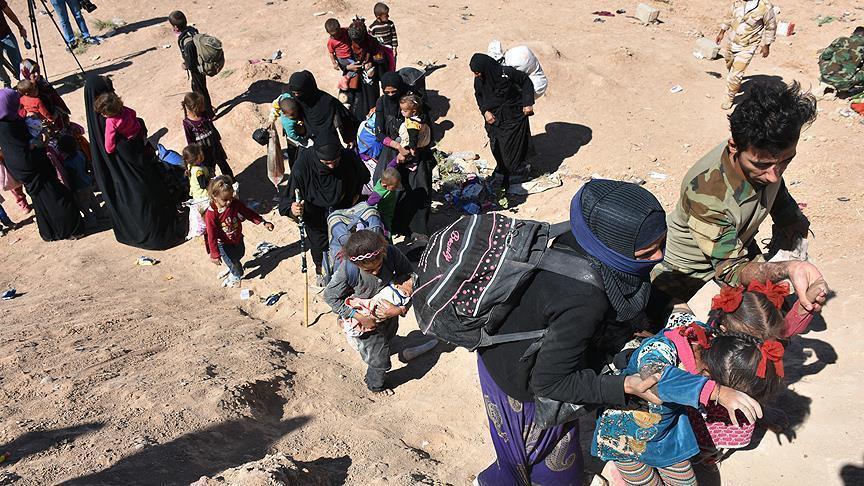 صورة الأمم المتحدة: نزوح 95 ألف من دير الزور في 8 أيام