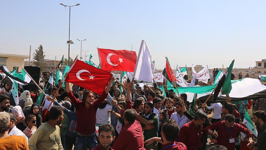 صورة سوريون: دخول الجيش التركي لإدلب ينهي الاعتداءات
