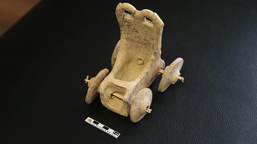 صورة تركيا.. العثور على لعبة أطفال عمرها 5 آلاف عام