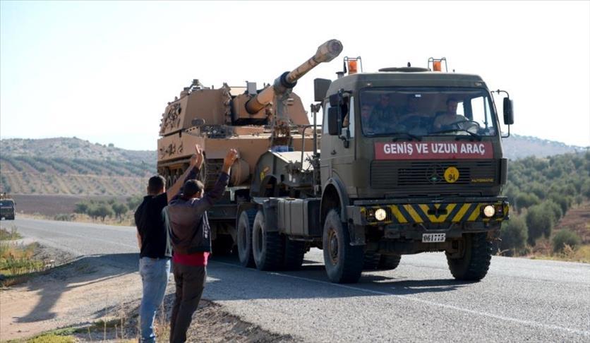 صورة رتل عسكري تركي جديد ينتشر بالداخل السوري