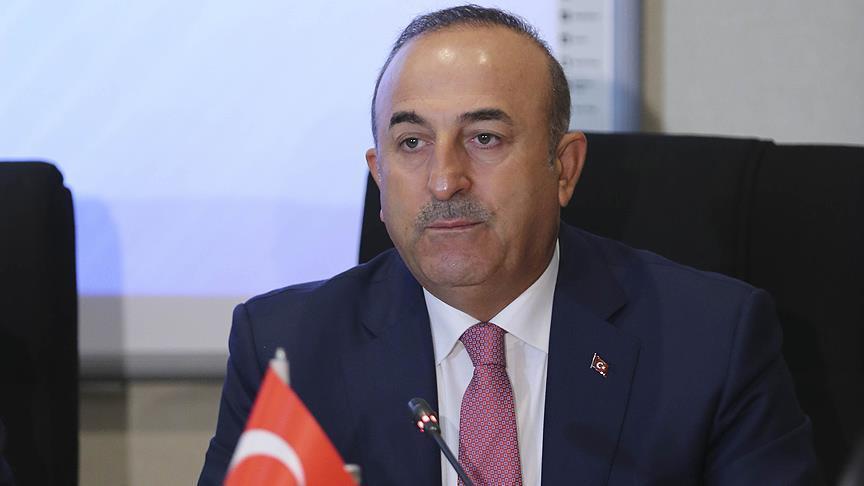 صورة جاويش أوغلو: تركيا وفرنسا متفقتان بوجهات النظر حول سوريا
