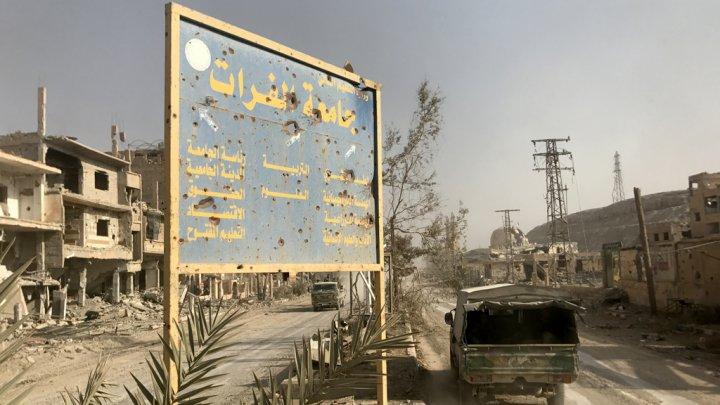 صورة تنظيم الدولة يستعيد نحو نصف البوكمال