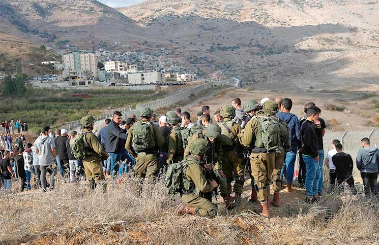 صورة إسرائيل والنظام السوري والتلاعب بقضية الدروز