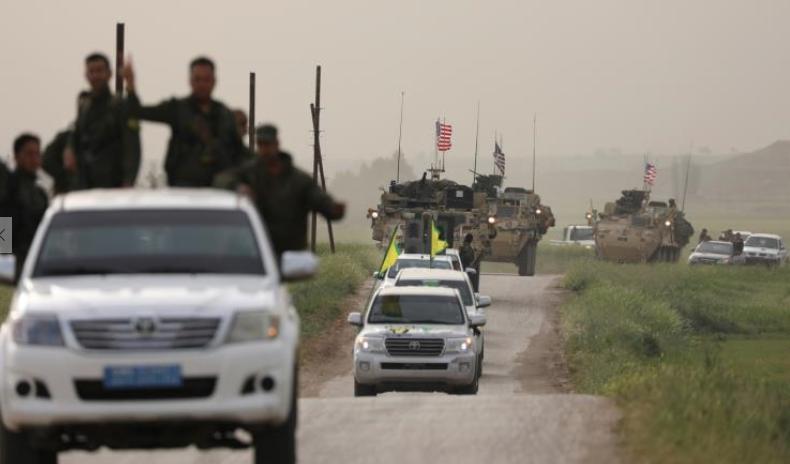 صورة الاتحاد الديمقراطي: نرحب ببقاء القوات الأميركية وقتا أطول بسوريا