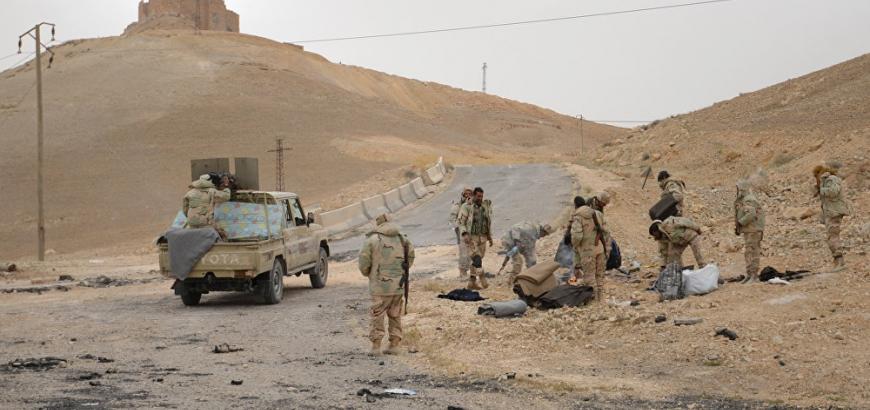 صورة تنظيم الدولة يهاجم تحرير الشام بريف حماة