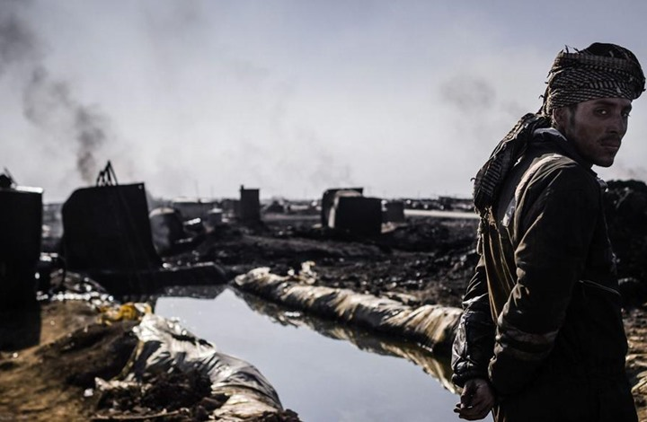 صورة حرب البترول بين موسكو وواشنطن بسوريا
