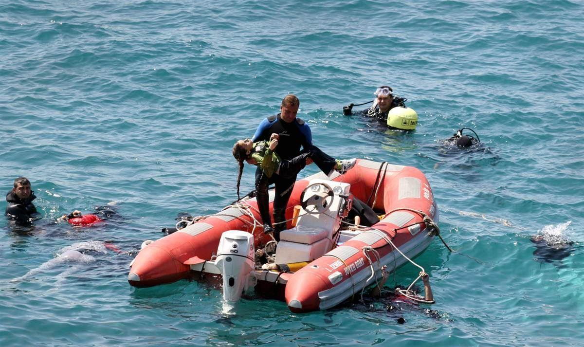 صورة نحو 100 لاجئ بينهم 26 فتاة لقوا حتفهم بالبحر المتوسط
