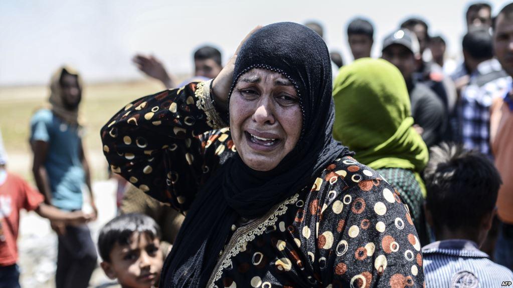 صورة قرابة 25 ألف أنثى سورية قتلوا منذ 2011