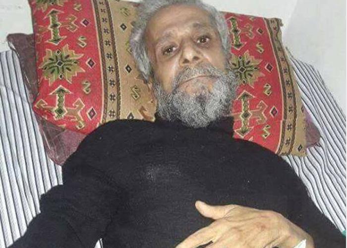 صورة وفاة مدني جراء الحصار جنوب دمشق