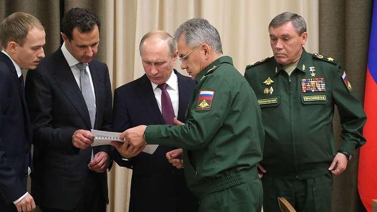 صورة ماذا قال الأسد لجنرالات روس قاتلوا بسوريا؟
