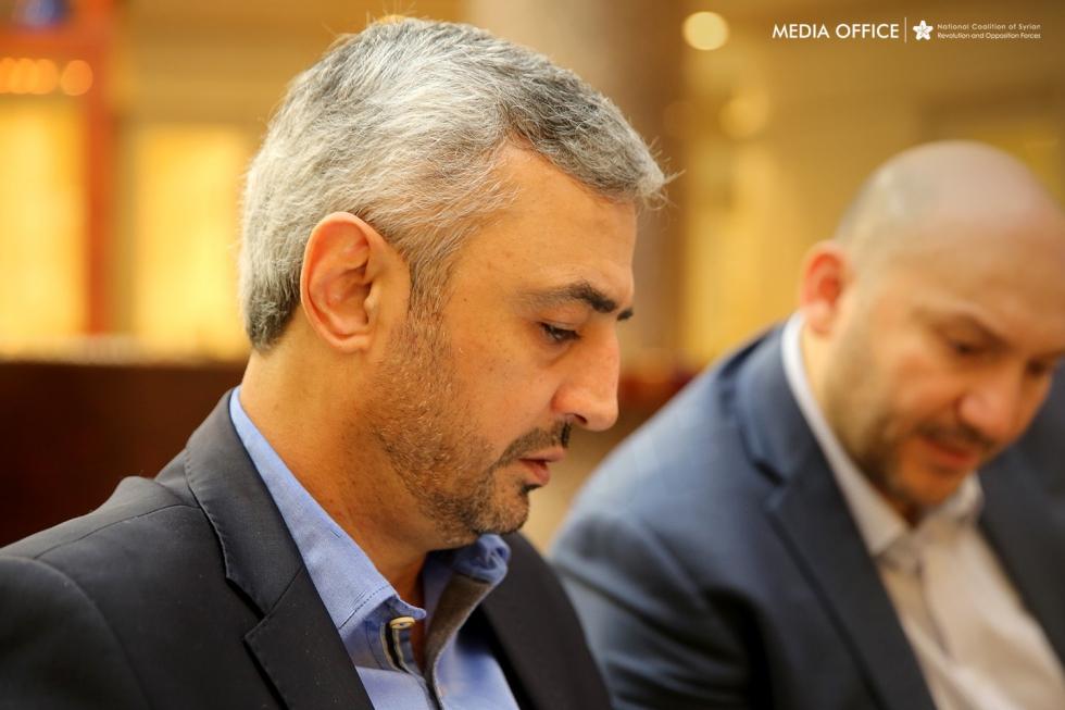 صورة الائتلاف: مؤتمر الرياض نجح في تحقيق أهدافه