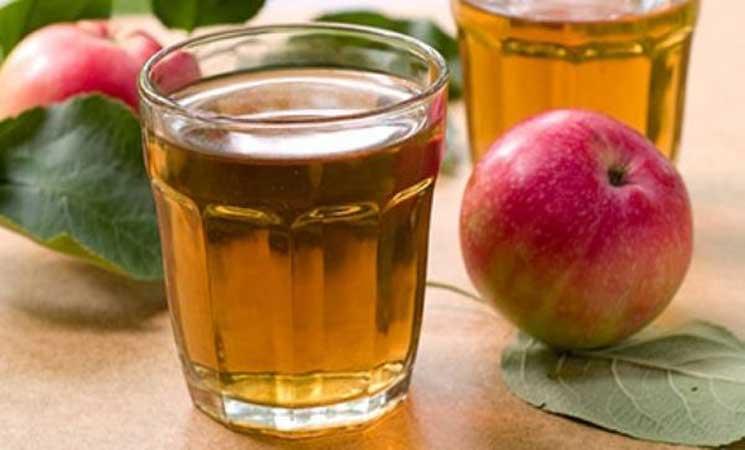 صورة عصير التفاح ليس نباتيا دائما
