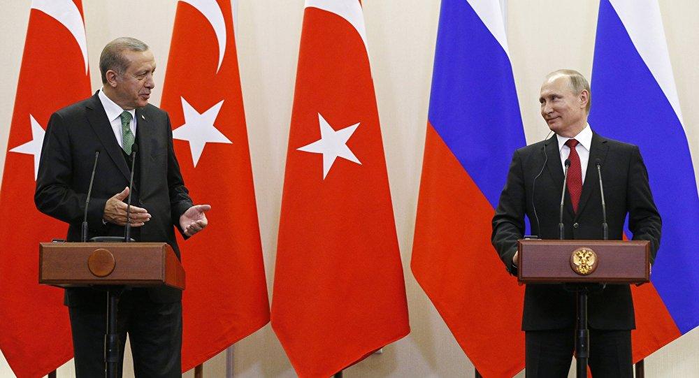 """صورة بالفيديو..هل حاول بوتين إسقاط أردوغان في """"سوتشي""""؟"""