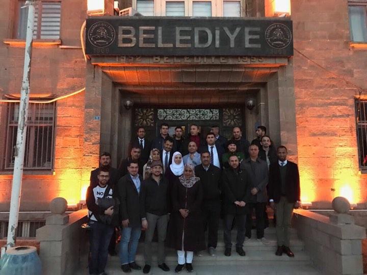 صورة بيت الإعلامين العرب بتركيا ينظم فعالية لصحفيّيه في ولاية أفيون