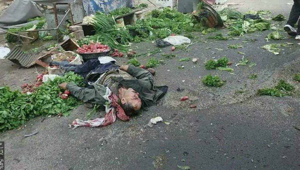 """صورة المعارضة: المواد الغذائية التي دخلت غوطة دمشق """"غير كافية"""""""