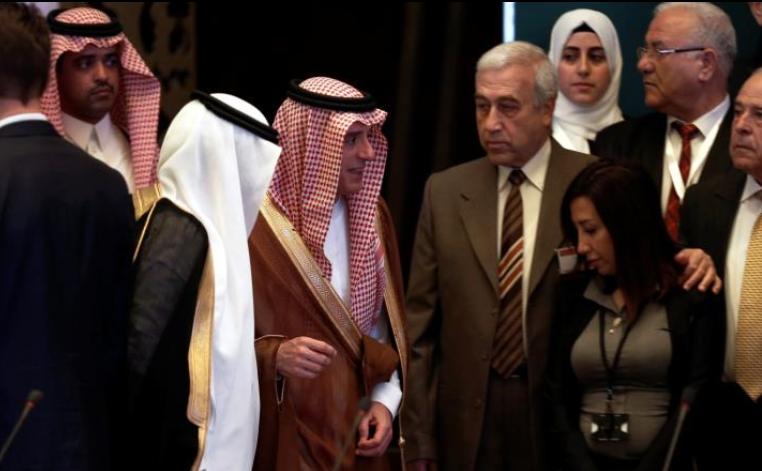 """صورة مسودة """"الرياض2"""" تؤكد على رحيل الأسد"""