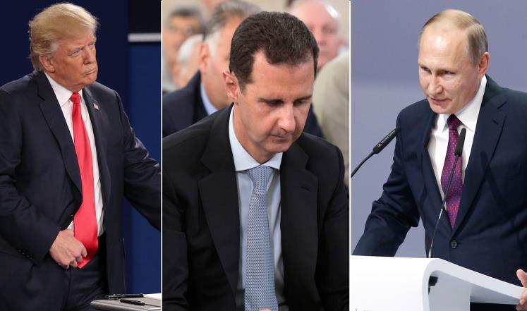 صورة صحيفة: على ترمب ألا يتخلى عن الإطاحة بالأسد