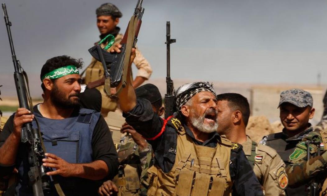 صورة وكالة: الحشد الشعبي دخل الأراضي السورية