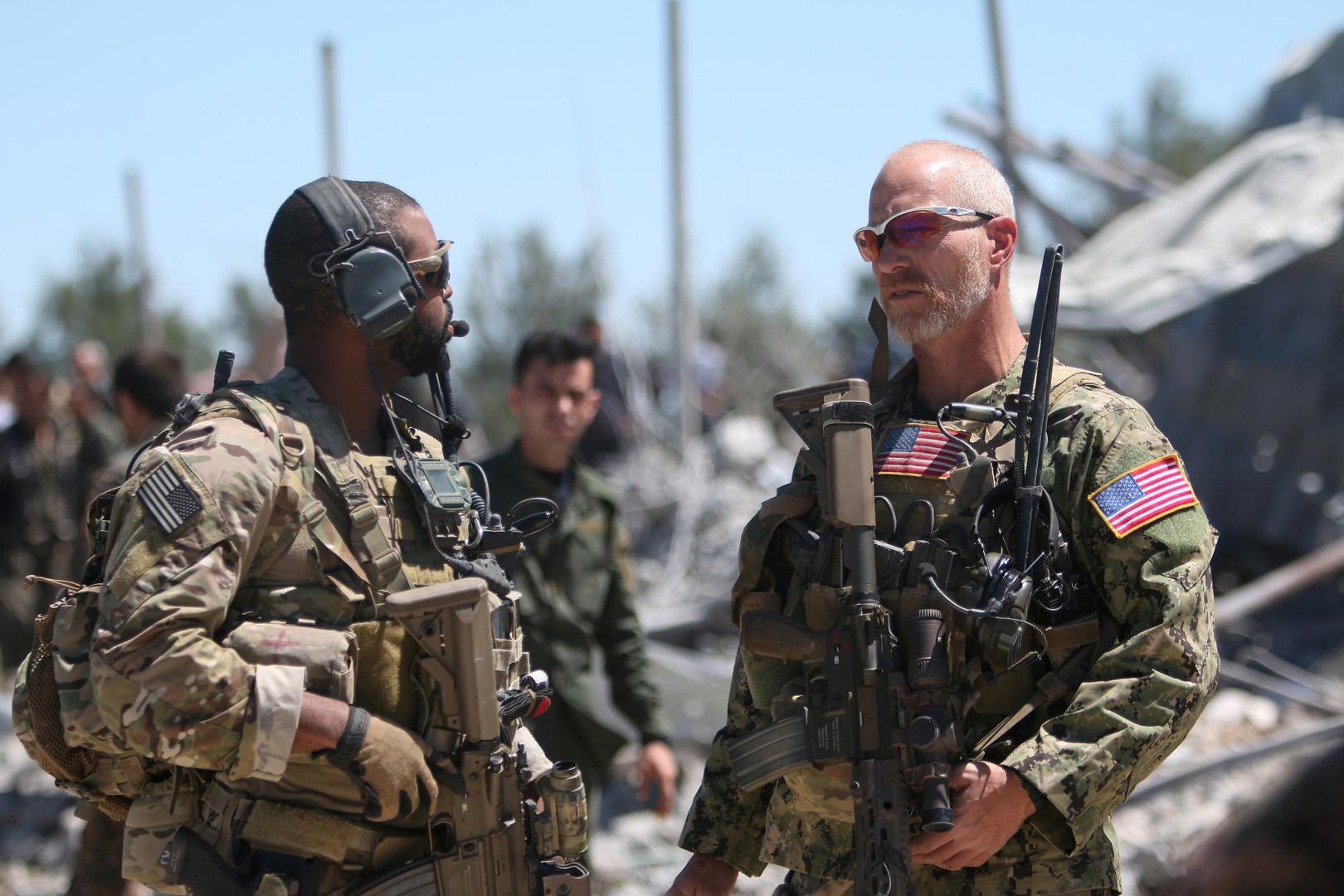 صورة منطقة خفض تصعيد أمريكية في سوريا