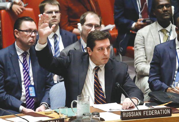 صورة روسيا تستخدم عاشر فيتو ضد تحرك دولي بسوريا