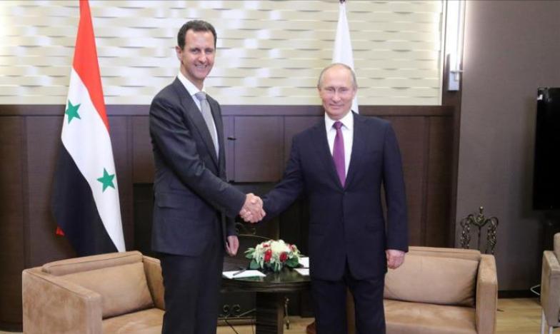 """صورة الأسد يرحب بـ""""سوتشي"""" ويؤكد المشاركة"""