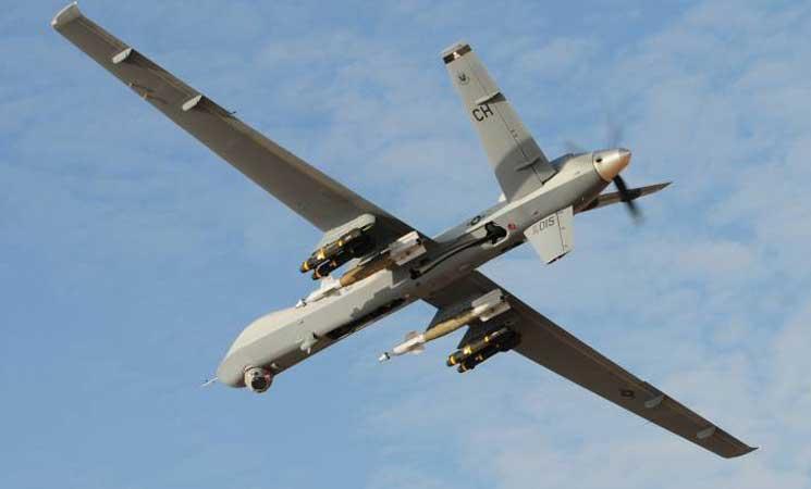 صورة إسرائيل تسقط طائرة مسيرة فوق الجولان