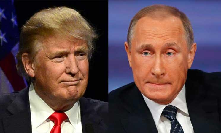 صورة لقاء محتمل بين بوتين وترامب..وسوريا تتصدر المباحثات