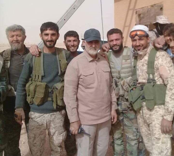 """صورة المعارضة: إيران والحشد بسوريا قوات """"احتلال"""""""