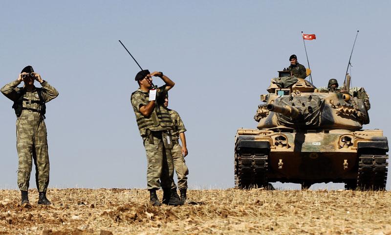 صورة أضخم رتل عسكري تركي يدخل سوريا