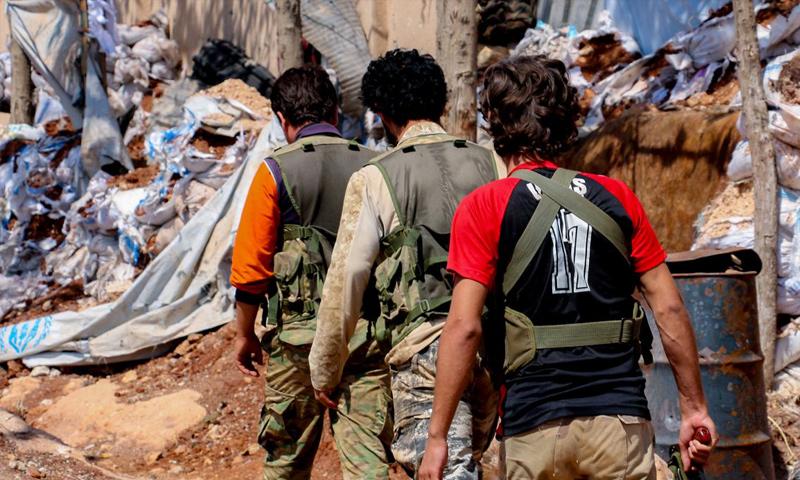 صورة تحرير الشام والزنكي..من الاندماج إلى الحرب الشاملة