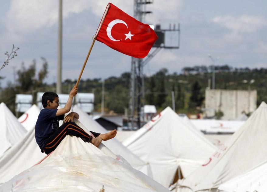 صورة المساعدات التركية للاجئين السوريين تجاوزت 30 مليار دولار